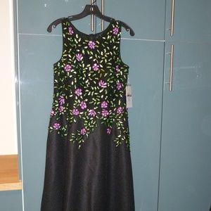 Bead & Sequin Evening Gown -